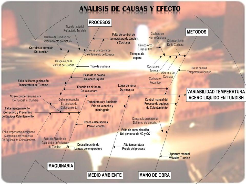 ANÁLISIS DE CAUSAS Y EFECTO