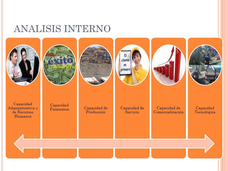 ANALISIS INTERNO Capacidad Administrativa y de Recursos Humanos
