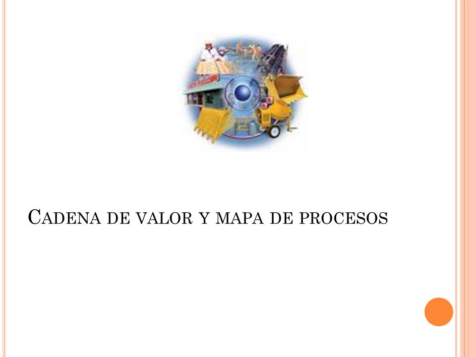 Cadena de valor y mapa de procesos