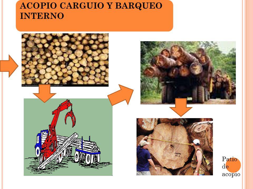 ACOPIO CARGUIO Y BARQUEO INTERNO