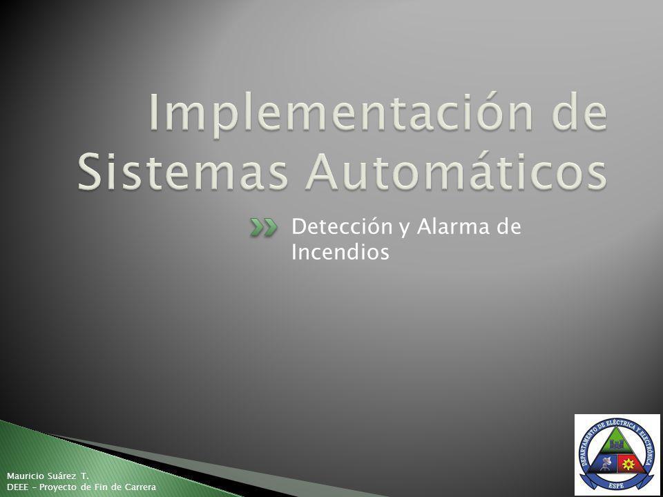 Implementación de Sistemas Automáticos