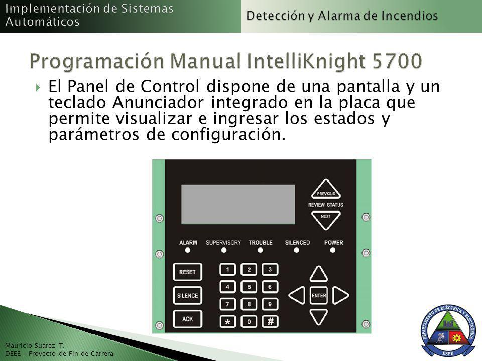 Programación Manual IntelliKnight 5700