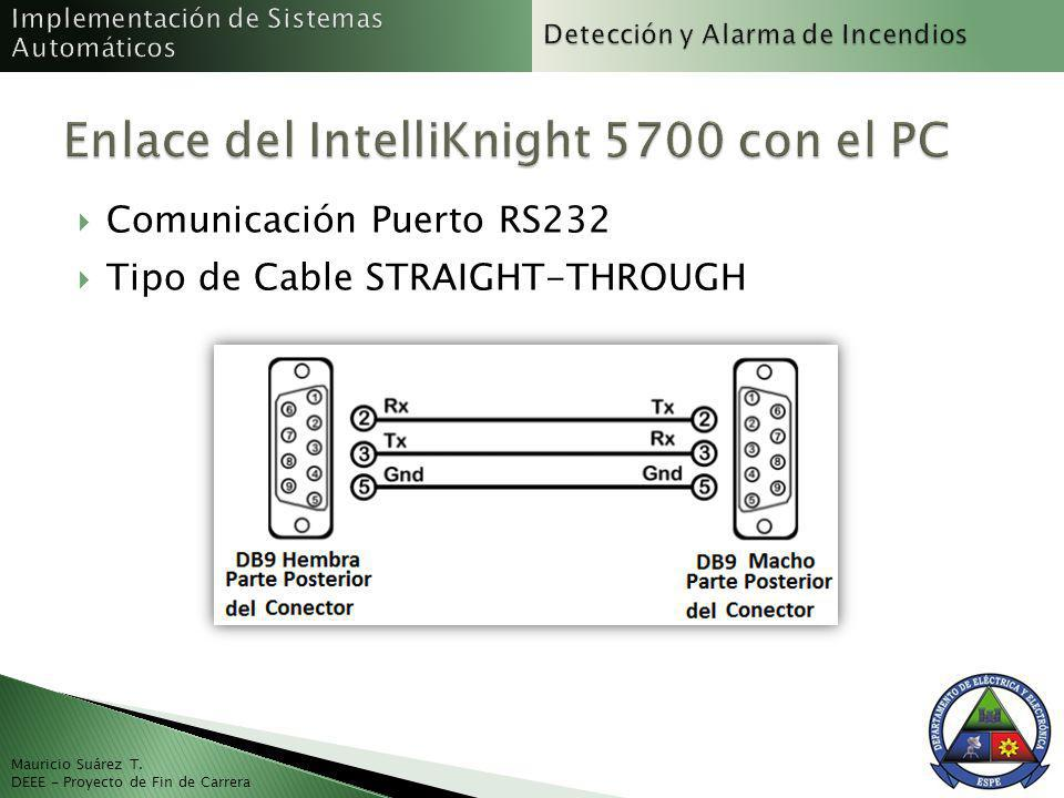 Enlace del IntelliKnight 5700 con el PC