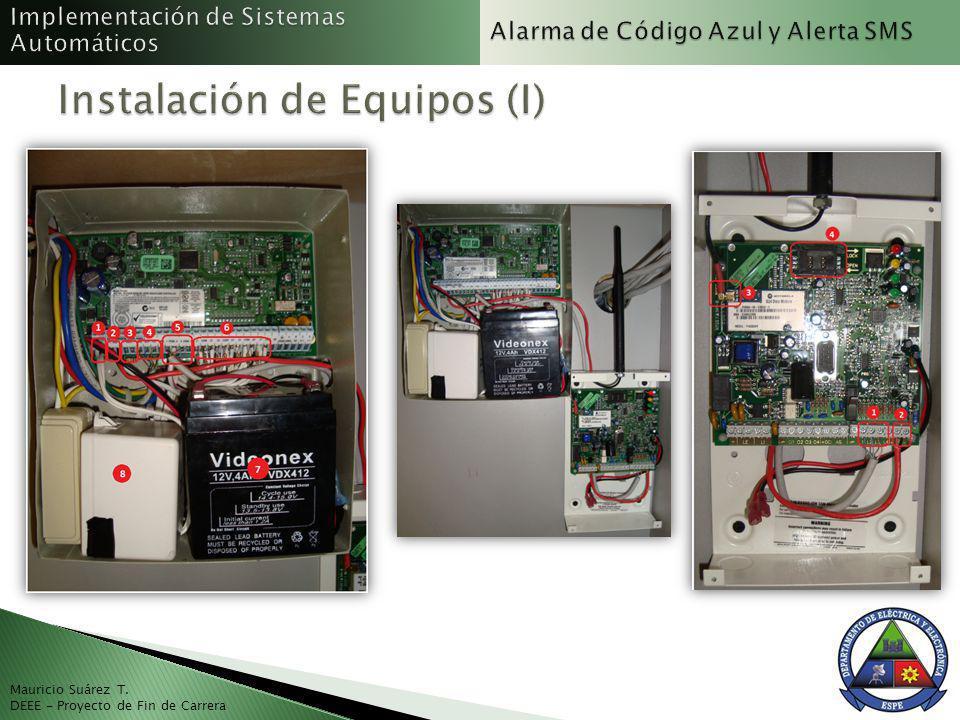 Instalación de Equipos (I)