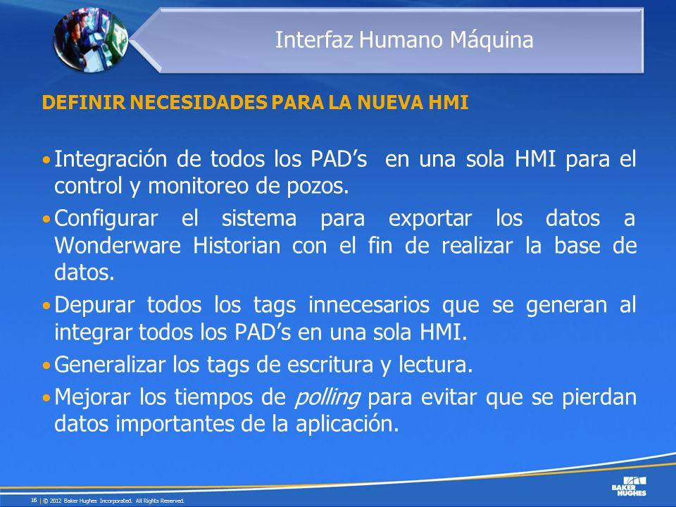Definir necesidades para la nueva HMI