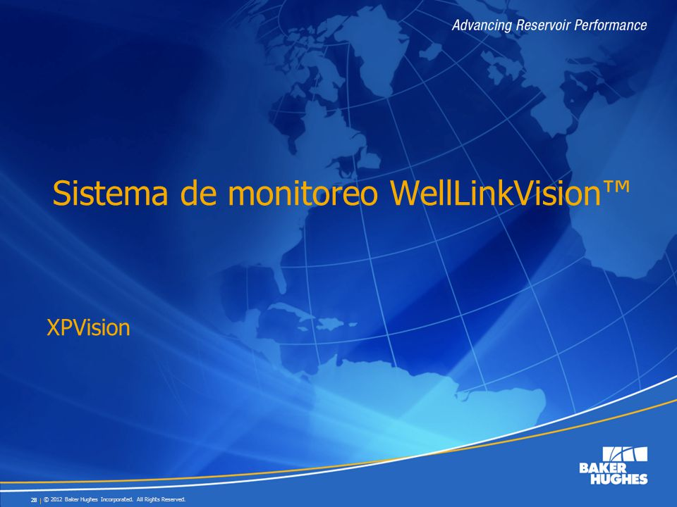 Sistema de monitoreo WellLinkVision™