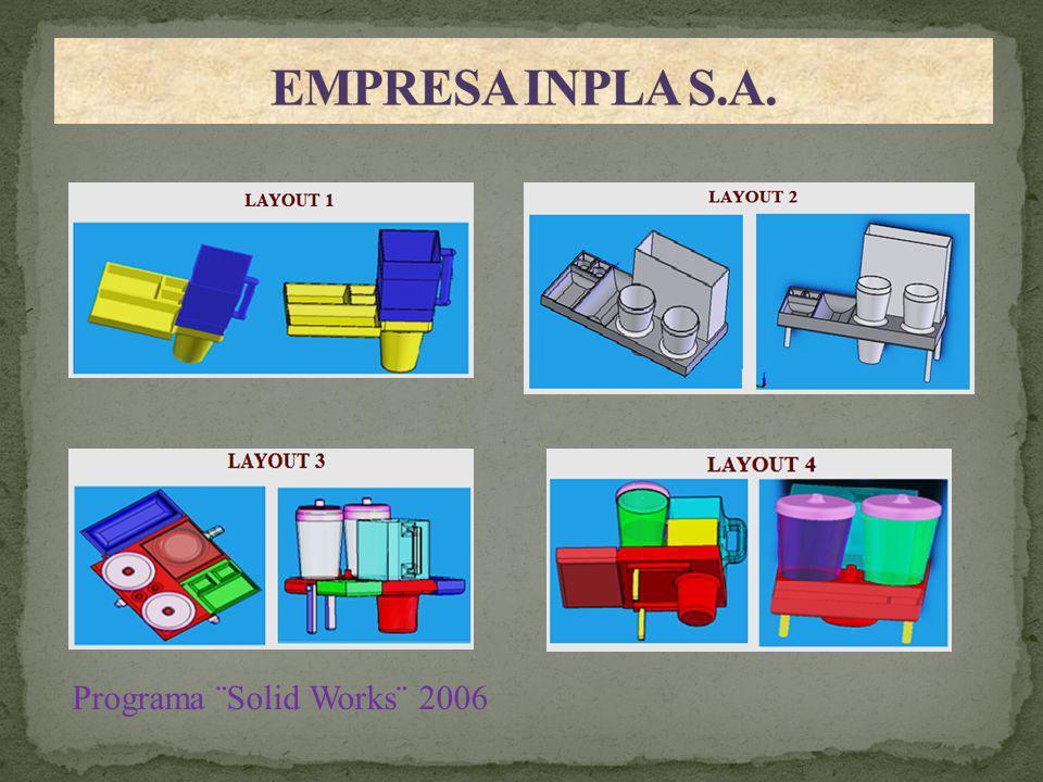 EMPRESA INPLA S.A EMPRESA INPLA S.A. Programa ¨Solid Works¨ 2006