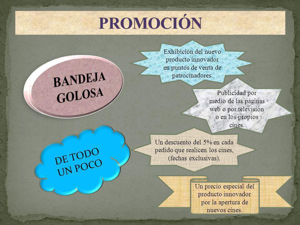 PROMOCIÓN BANDEJA GOLOSA DE TODO UN POCO