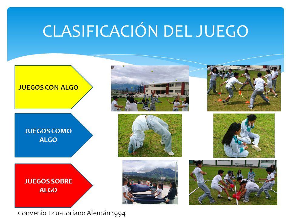 CLASIFICACIÓN DEL JUEGO