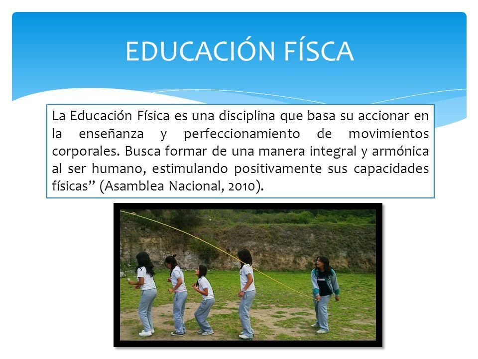 EDUCACIÓN FÍSCA