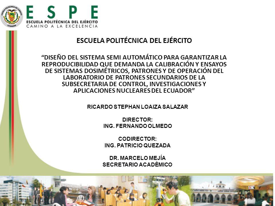 ESCUELA POLITÉCNICA DEL EJÉRCITO RICARDO STEPHAN LOAIZA SALAZAR
