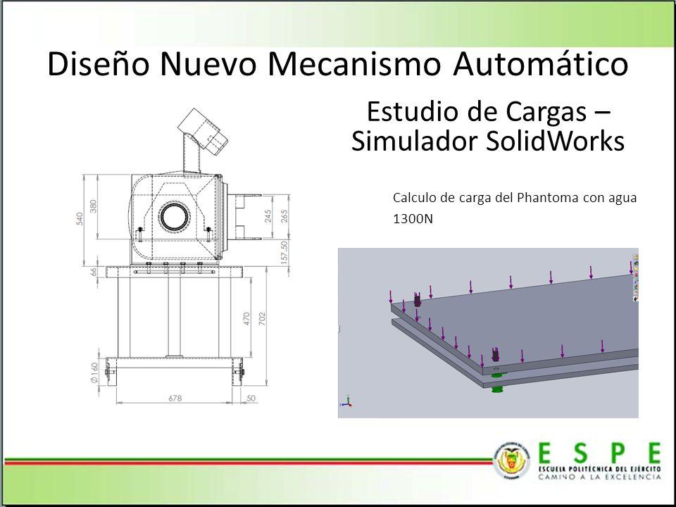 Diseño Nuevo Mecanismo Automático