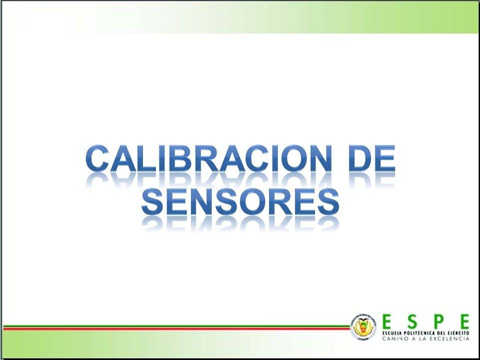 CALIBRACION DE SENSORES