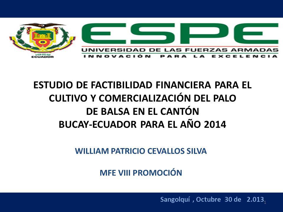 BUCAY-ECUADOR PARA EL AÑO 2014 WILLIAM PATRICIO CEVALLOS SILVA