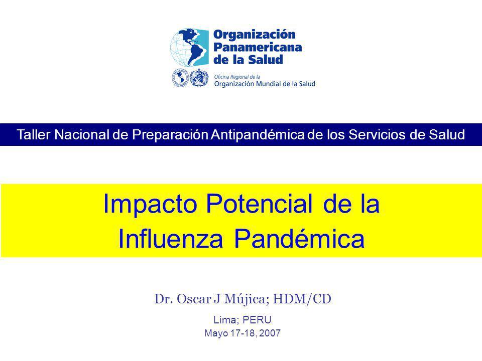 Impacto Potencial de la Influenza Pandémica