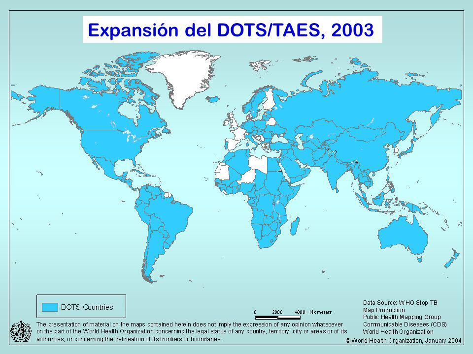 Expansión del DOTS/TAES, 2003