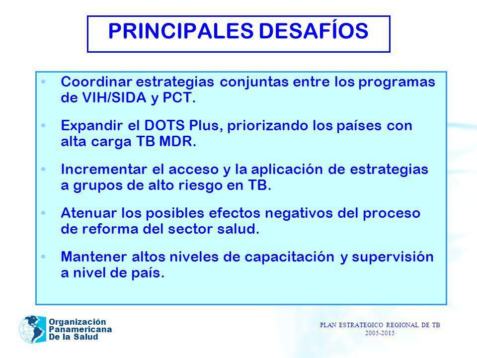 PLAN ESTRATEGICO REGIONAL DE TB 2005-2015