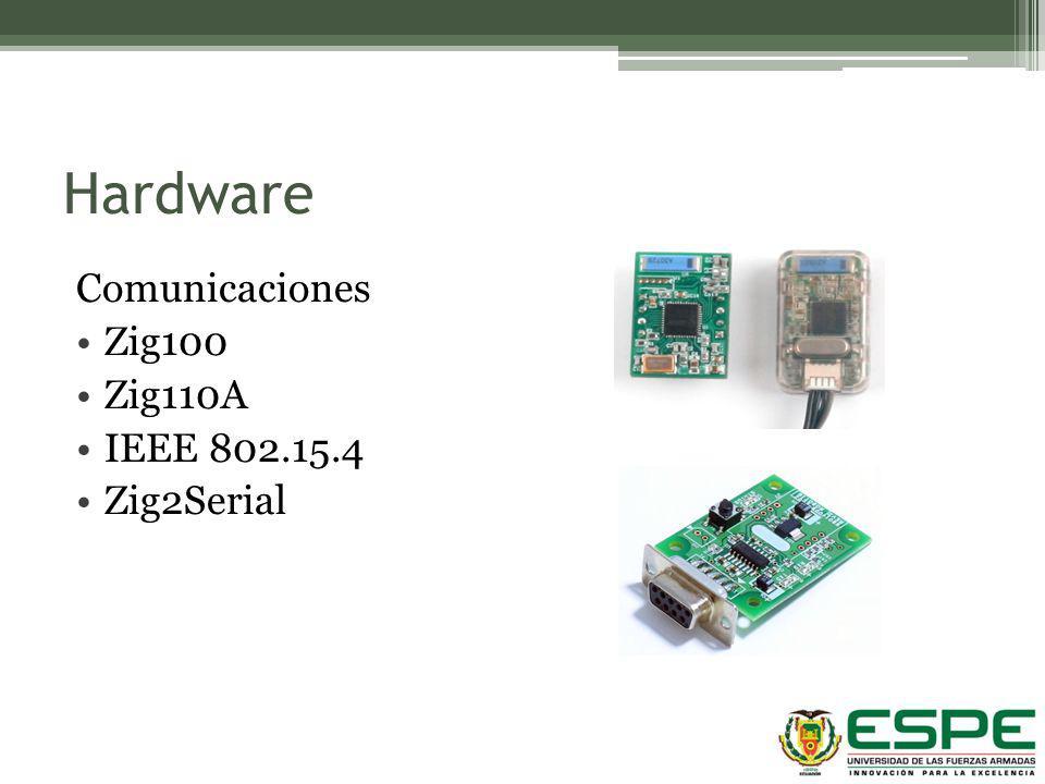 Hardware Comunicaciones Zig100 Zig110A IEEE 802.15.4 Zig2Serial Zigbee