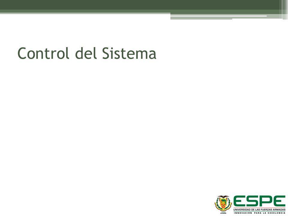 Control del Sistema