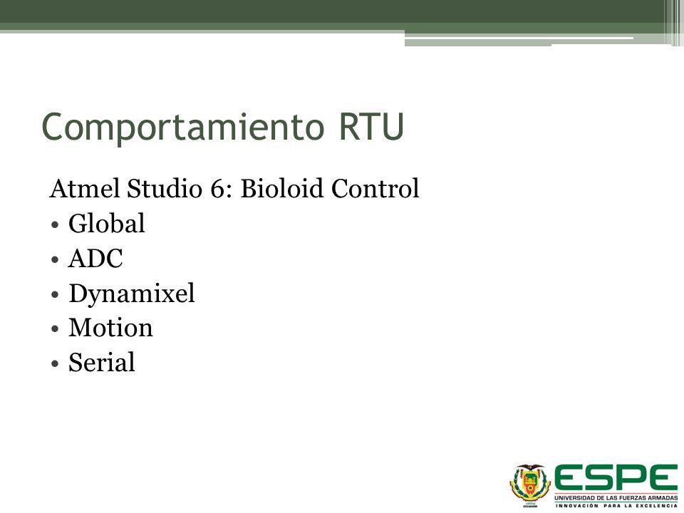Comportamiento RTU Atmel Studio 6: Bioloid Control Global ADC