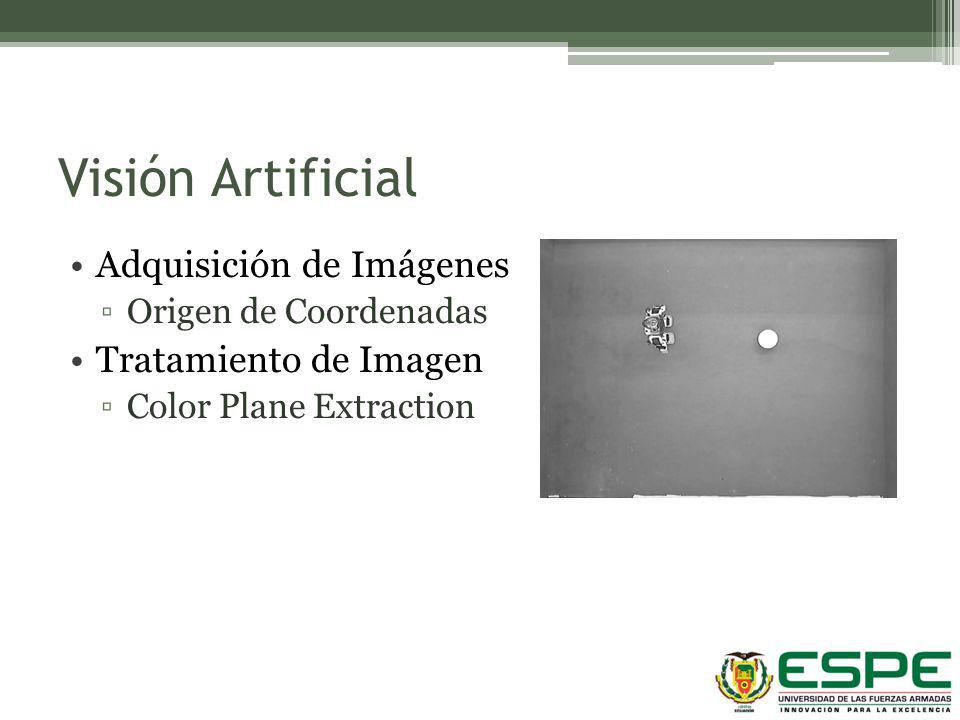 Visión Artificial Adquisición de Imágenes Tratamiento de Imagen