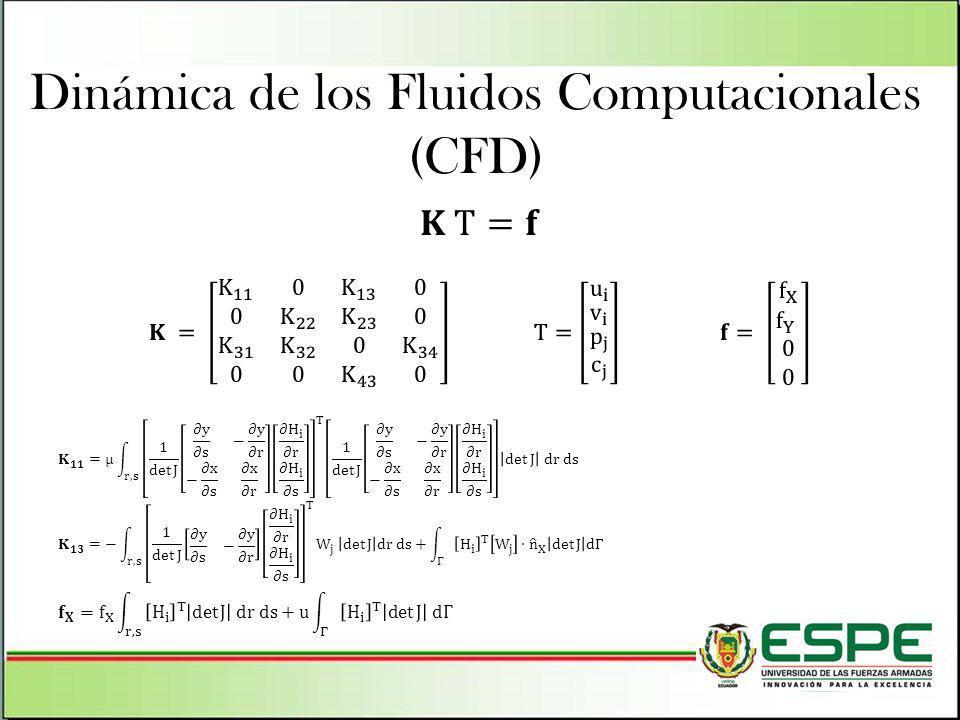 Dinámica de los Fluidos Computacionales (CFD)