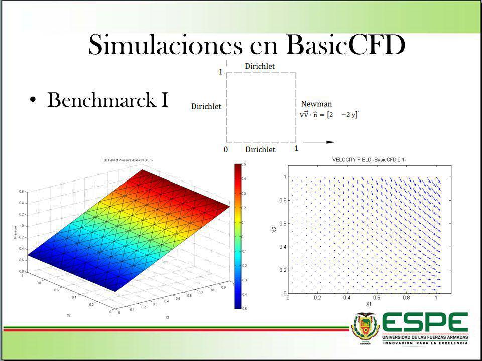 Simulaciones en BasicCFD