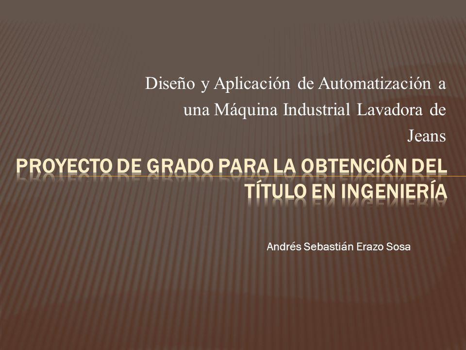 Proyecto de Grado para la Obtención del tÍtulo en Ingeniería