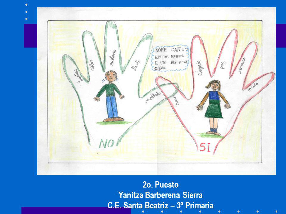 Yanitza Barberena Sierra C.E. Santa Beatriz – 3º Primaria