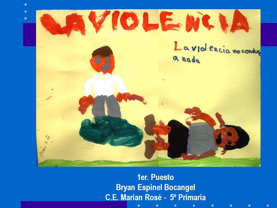 Bryan Espinel Bocangel C.E. Marian Rosé - 5º Primaria