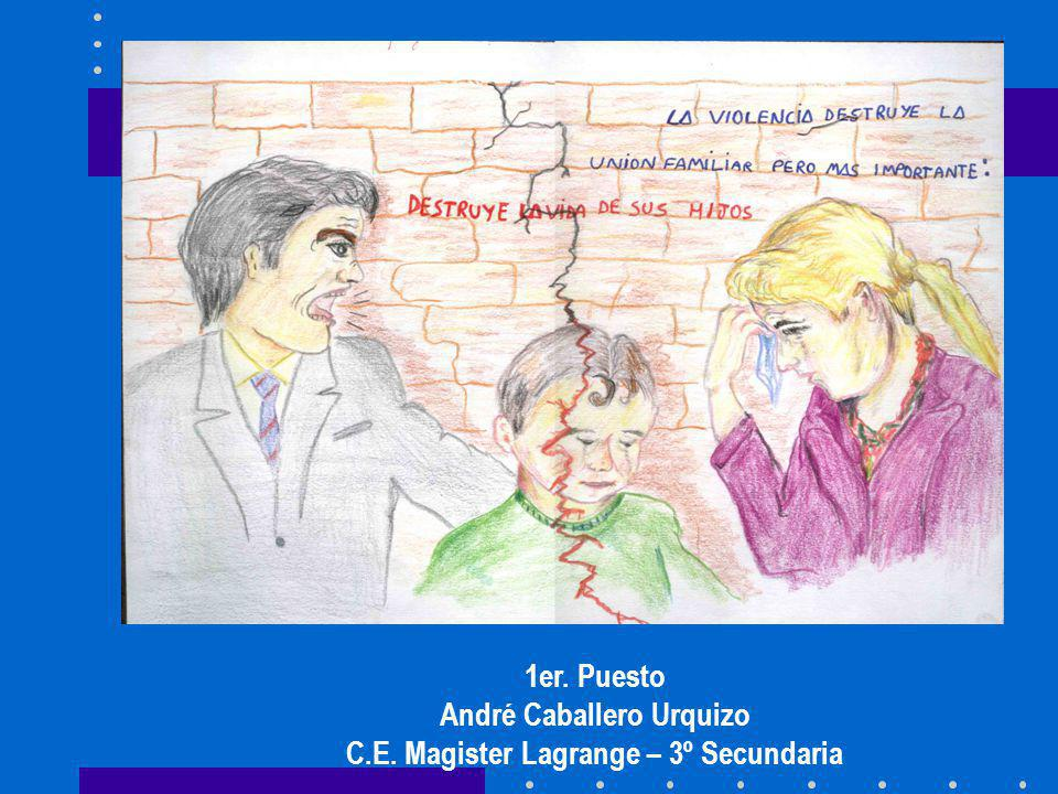 André Caballero Urquizo C.E. Magister Lagrange – 3º Secundaria