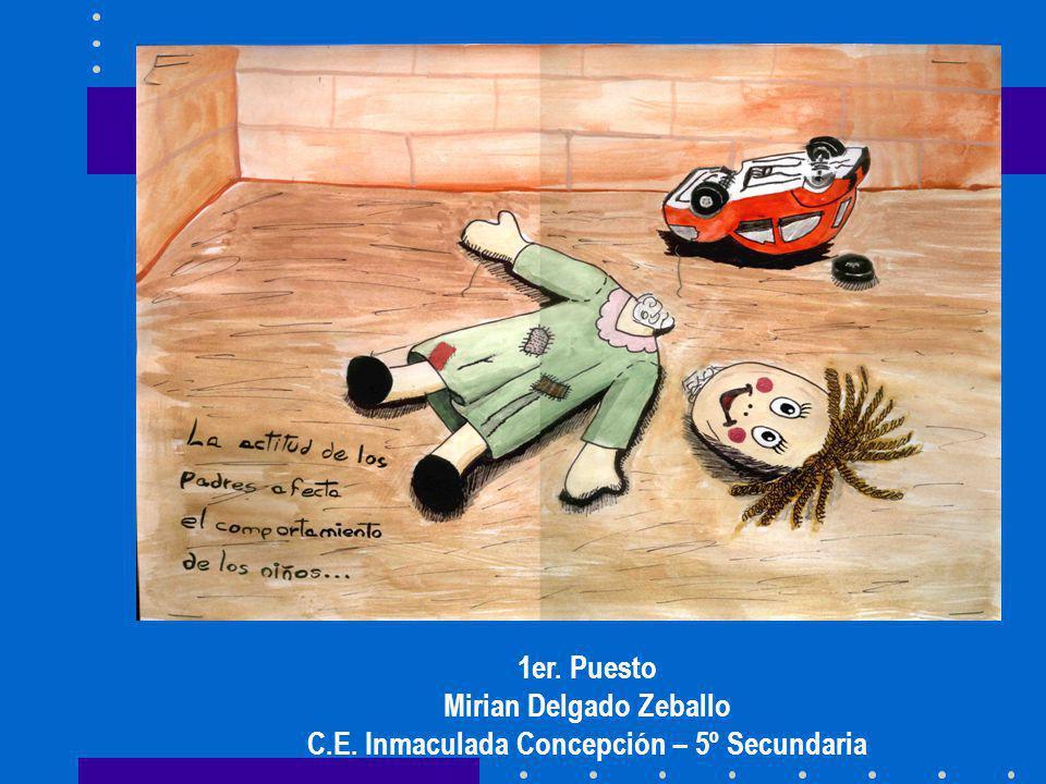 Mirian Delgado Zeballo C.E. Inmaculada Concepción – 5º Secundaria