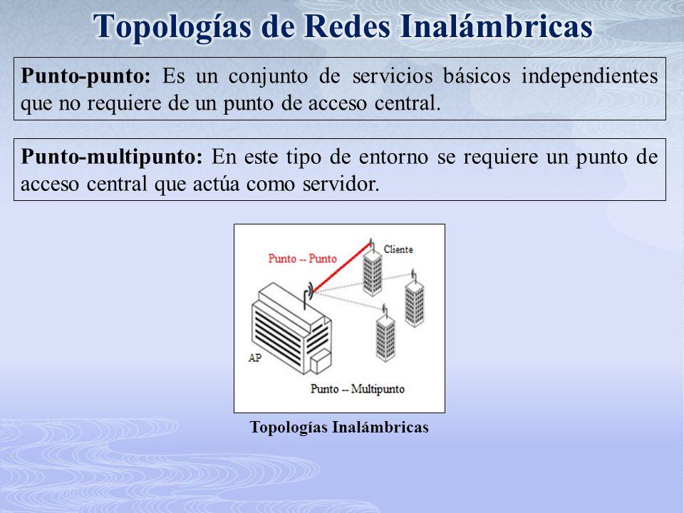 Topologías de Redes Inalámbricas