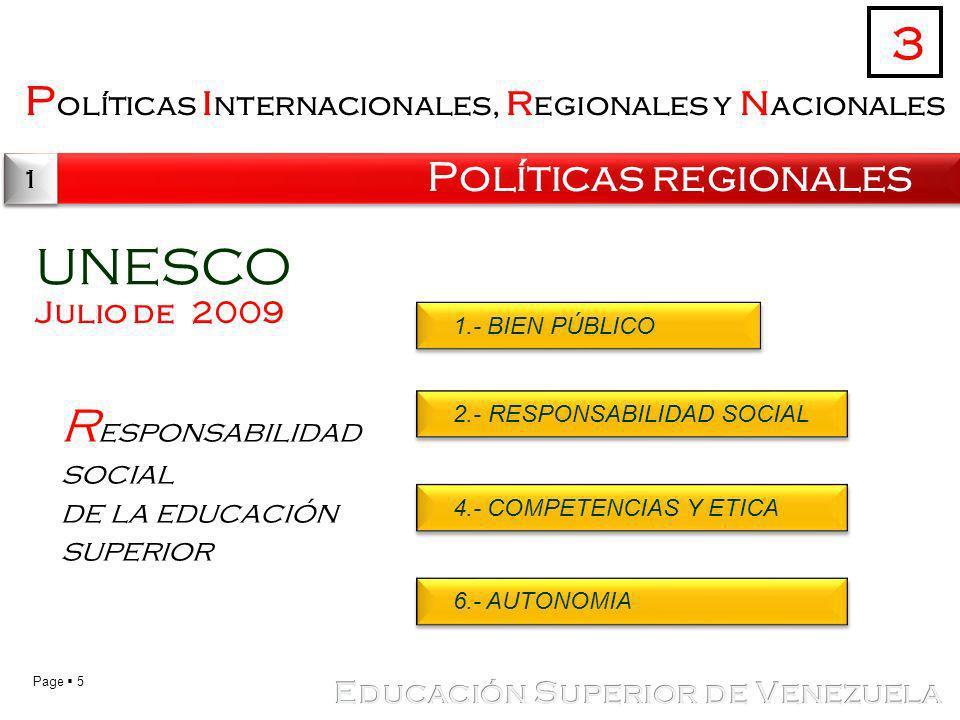 UNESCO 3 Responsabilidad social