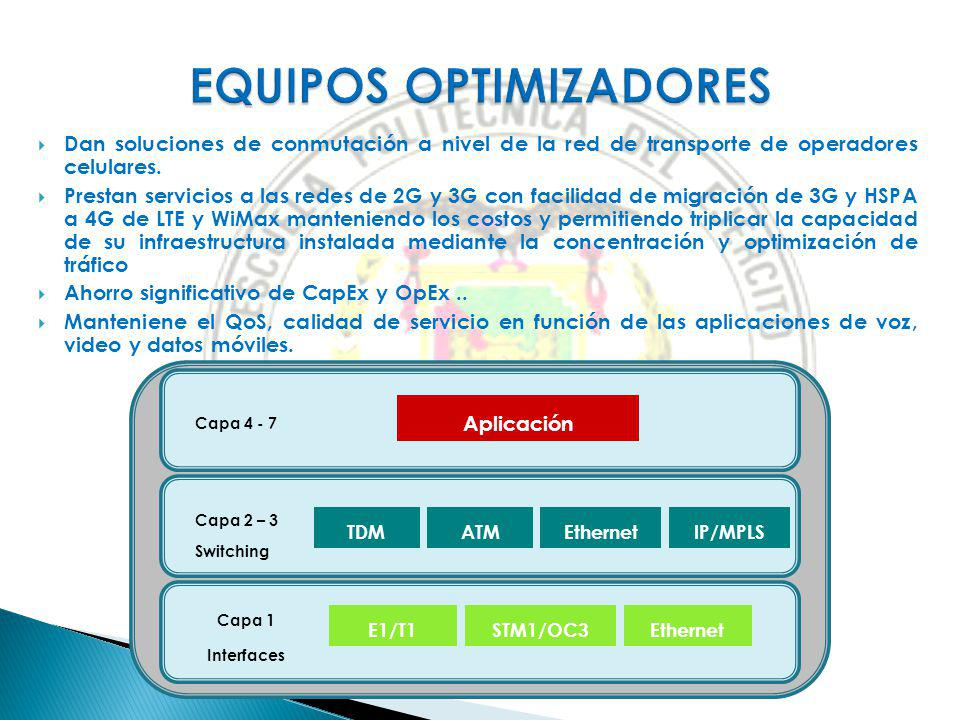 EQUIPOS OPTIMIZADORES