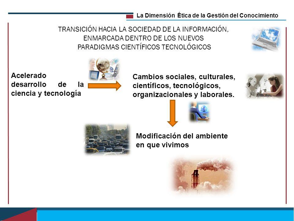 TRANSICIÓN HACIA LA SOCIEDAD DE LA INFORMACIÓN,