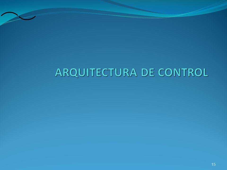 ARQUITECTURA DE CONTROL