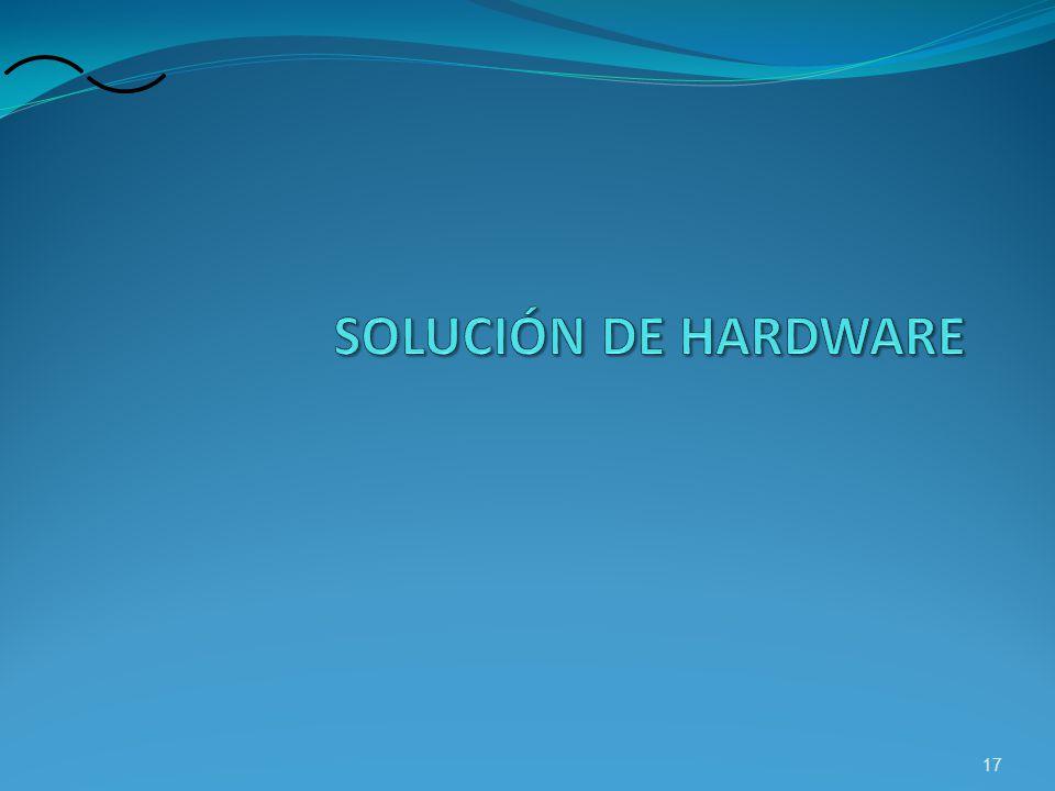 SOLUCIÓN DE HARDWARE