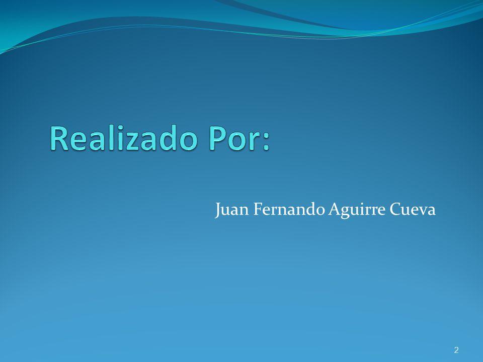 Juan Fernando Aguirre Cueva