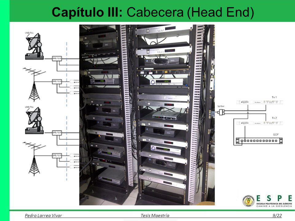 Capítulo III: Cabecera (Head End)