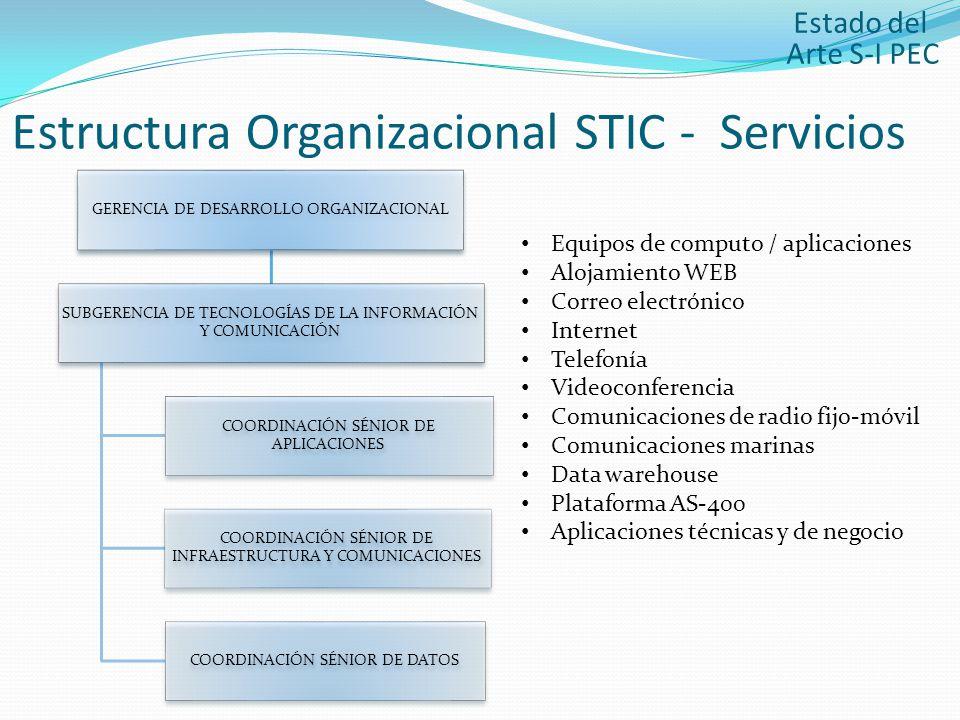 Estructura Organizacional STIC - Servicios