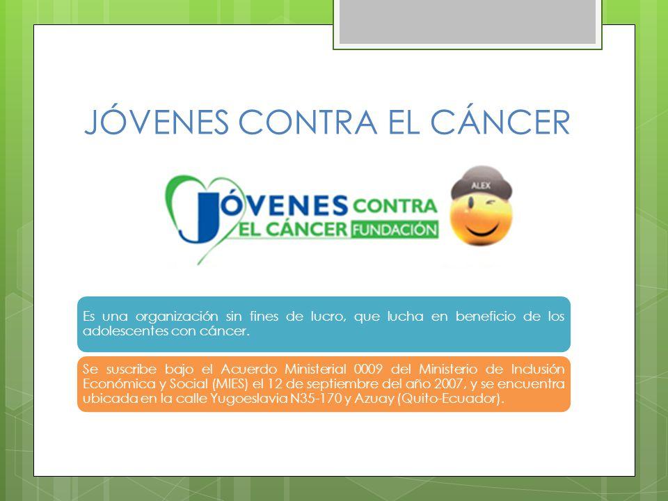 JÓVENES CONTRA EL CÁNCER