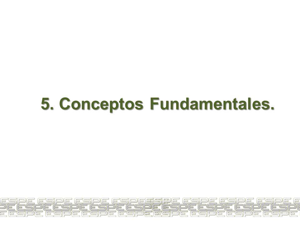 5. Conceptos Fundamentales.