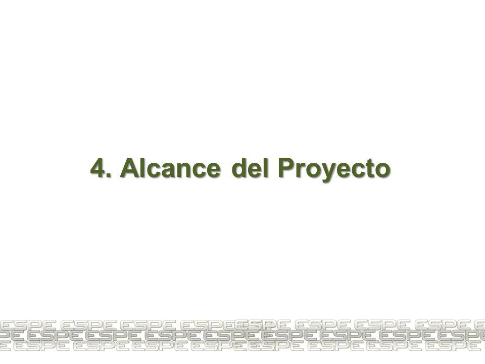 4. Alcance del Proyecto 9
