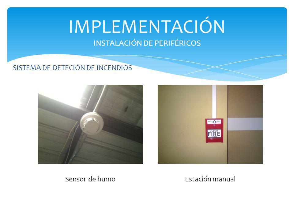 IMPLEMENTACIÓN INSTALACIÓN DE PERIFÉRICOS