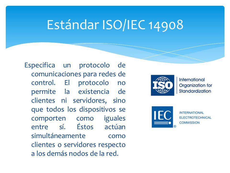 Estándar ISO/IEC 14908