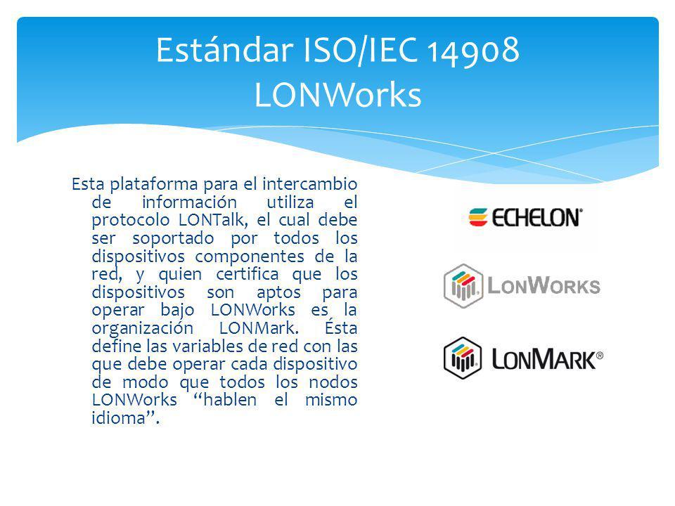 Estándar ISO/IEC 14908 LONWorks