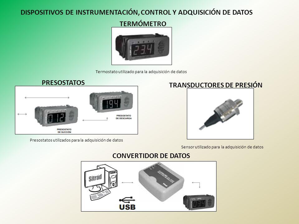 DISPOSITIVOS DE INSTRUMENTACIÓN, CONTROL Y ADQUISICIÓN DE DATOS