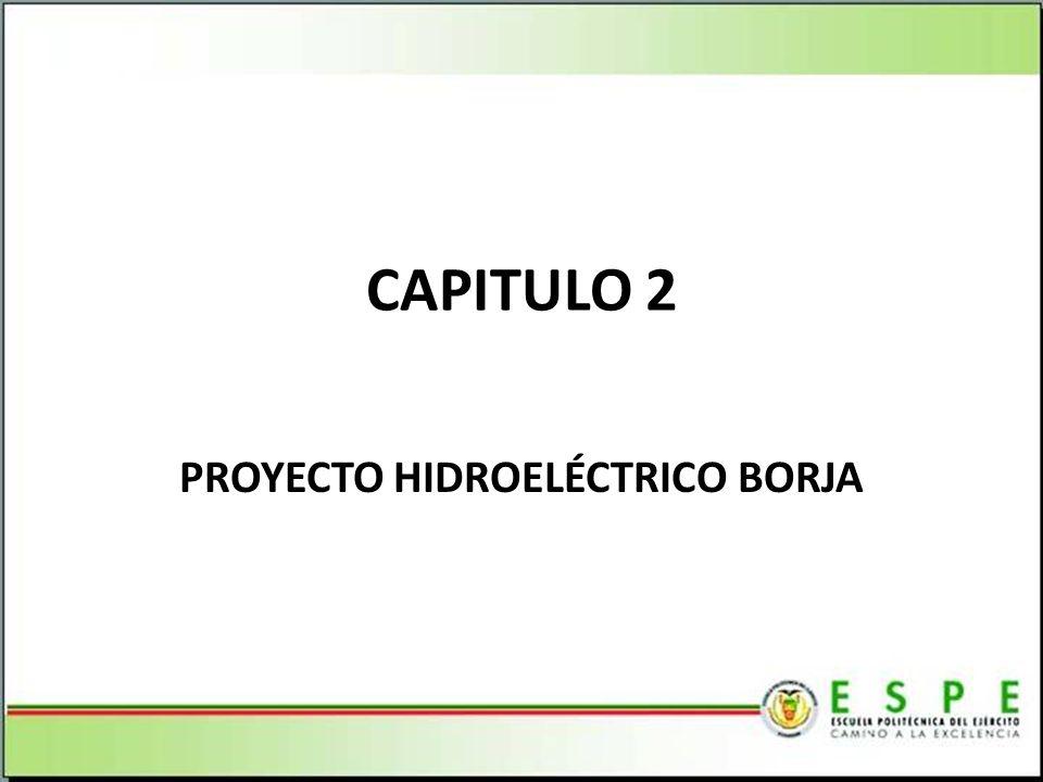 PROYECTO HIDROELÉCTRICO BORJA