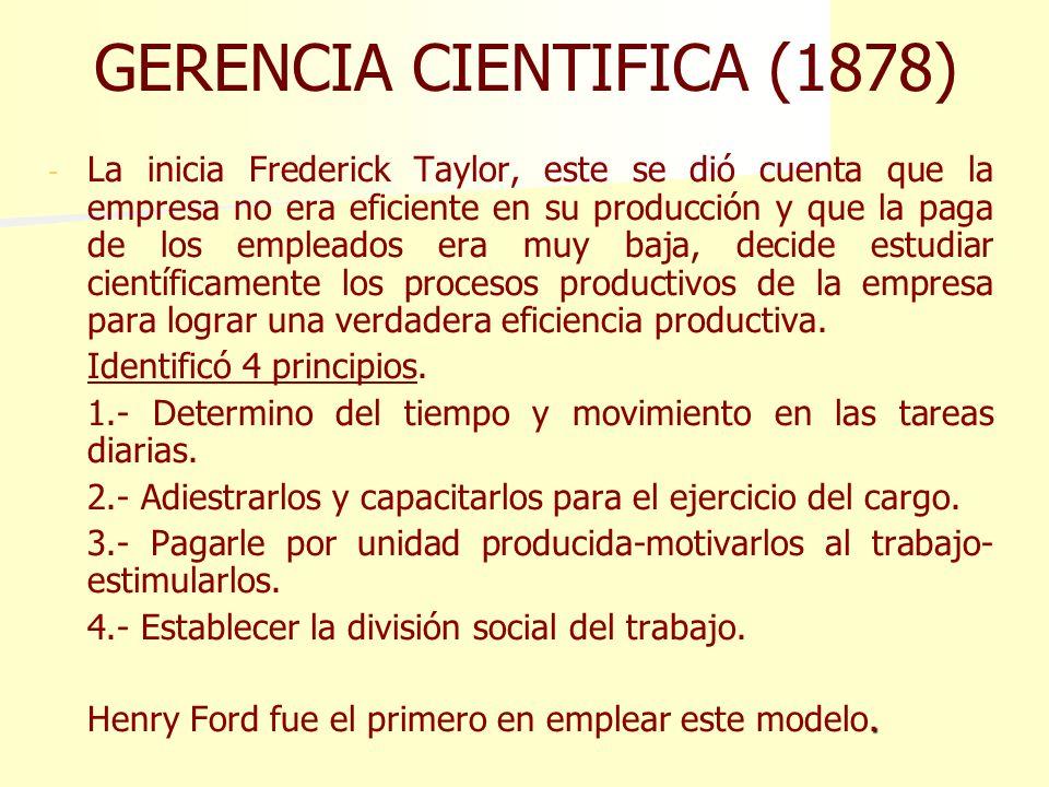 GERENCIA CIENTIFICA (1878)